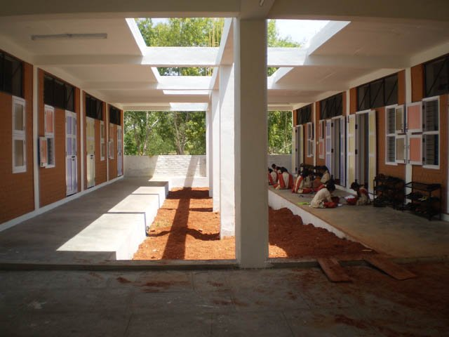 erd-new classrooms-outside view
